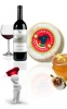 Formaggella cheese, Chestnut Honey, FAY Valtellina wine